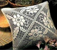 Коллекция подушек в филейной технике - САМОБРАНОЧКА рукодельницам, мастерицам