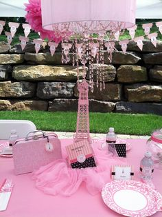 Another Paris Theme Birthday Party! More Good Ideas