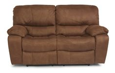 Flexsteel - Double Reclining Fabric Loveseat - 1541-60