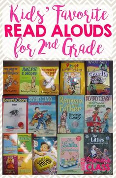 Terrific choices for funny and charming grade read aloud books. Chapter books that are appropriate for kids in elementary school grades. 2nd Grade Chapter Books, Second Grade Writing, Teaching Second Grade, 2nd Grade Ela, Second Grade Teacher, 2nd Grade Classroom, 2nd Grade Reading, Kids Reading, Grade 2