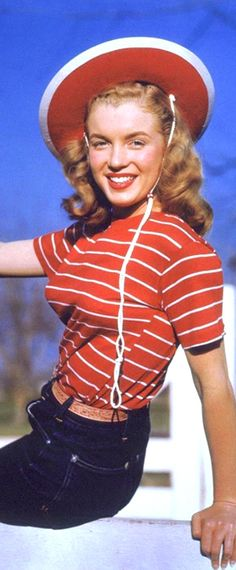 Norma Jeane. Photo by Richard C. Miller, 1946.