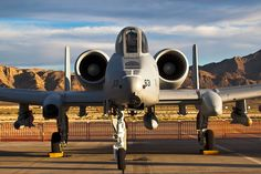 A-10 Thunderbolt II (Warthog). Apart from it's ability to carry a massive payload, the highlight of this devastating ground-attack aircraft is the 30mm gatlin gun in it's nose. Dubbed the tank-killer, a few short bursts from this gun is enough to wipe out most any armor currently in  military service.