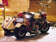Monkey sidecar Z50A