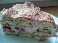 Czech Recipes, Ethnic Recipes, Ice Cream Candy, Cake Cookies, No Bake Cake, Cheesecake, French Toast, Goodies, Food And Drink