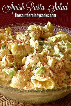 Delicious anytime and one of our most popular recipes. Amish Potato Salads, Savory Salads, Veggie Pasta Salads, Pasta Salad Recipes Cold, Picnic Salad Recipes, Best Potato Salad Recipe, Spinach Salads, Vegetable Salad Recipes, Best Pasta Salad