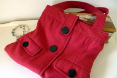 Recycled Jacket Bag