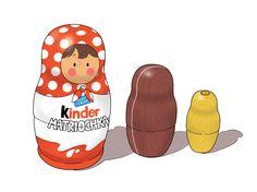 Kinder - Matriochka where do we get these?   I want!!