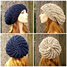 Loom Knit Baby Booties Pattern : 1000+ images about hat loom ideas on Pinterest Slouchy hat, Slouch hats and...