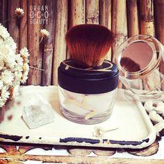 <3 Travel Size - Vegan Kabuki Brush Organic Dry Shampoo Hair Powder <3 made with Bamboo Extract <3 Pure Me Collection by Urban Eco Beauty <3 #UrbanEcoBeauty #PureMe ♥ #DryShampoo #Vegan #VeganBrush #Kabuki #KabukiBrush #HairPowder #Bohemian #Gypsy #BohoHair #HippieHair #Eco #Handmade #Organic #Yoga #Herbs #NaturalLife #Nature #Natural #MineralMakeup #Herbal #Product #Treatment #Powder #TravelSize #OrganicHairCare #Hair #OrganicBodyCare #NaturesGift