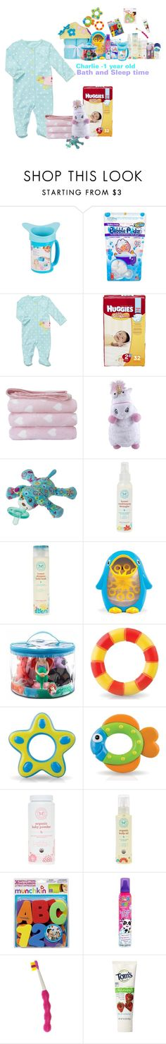 """Sleep and Bath time"" by lovetini6412 ❤ liked on Polyvore featuring Carter's, Huggies, The Honest Company, Barneys New York, Disney, Nûby, Cetaphil, Girls, Baby and kids"