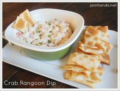 Crab Rangoon Dip at Jam Hands
