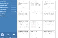 Making worksheets come alive with Desmos Activity Builder