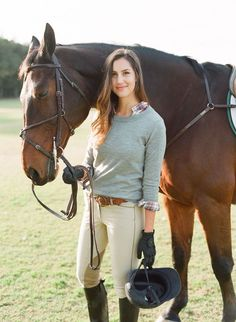 A casual equestrian outfit idea that is both stylish and functional. Photo by equestrian lifestyle photographer Emily Scott. Equestrian Boots, Equestrian Outfits, Equestrian Style, Equestrian Fashion, Horse Fashion, Cowgirl Boots, Western Boots, Riding Hats, Horse Riding