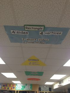 What do you do when you run out of bulletin board space......USE THE CEILING.....maybe put vocabulary words up there.