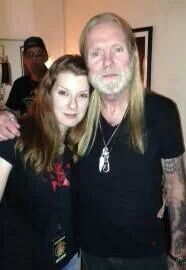 Galadrielle Allman (Duane's daughter) and her uncle Gregg +#photobomber