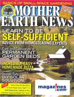 Mother Earth News Journals Subscription Discount | Magazines.com