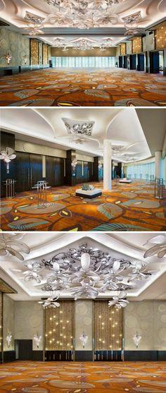W Hotel Singapore_Sentosa Cove_Ballroom Ceiling Concept
