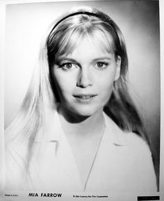 Mia Farrow as 'Allison MacKenzie' (1964-66) in Peyton Place (1966-69, ABC) — At the height of her popularity on the show, Farrow walked off to accommodate the desire of then-husband Frank Sinatra.
