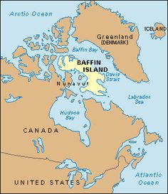 nunavut location in canada