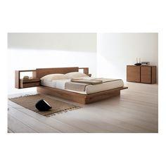 Vegas Timber Platform Bed @ Bedworks Tasmania Oak or Pine