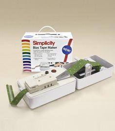 Simplicity Bias Tape Maker machine om biaisband te maken | Naaipatronen.nl | zelfmaakmode patroon online