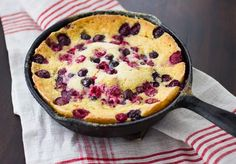 *MADE* | Custard Cornbread with Berries & Honey - Bojon Gourmet (I made this with strawberries, I think really any fruit would be great!)