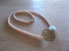 aventurine & tiny beads Pearl Necklace, Pearls, Bracelets, Jewelry, Art, Fashion, String Of Pearls, Art Background, Moda
