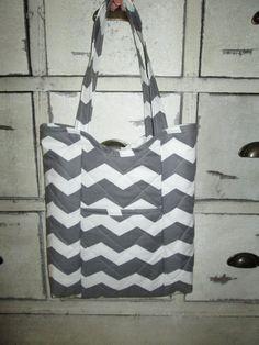 Handmade Quilted Tote Bag  Travelin Jayne by ThreeRoseBuds83, $40.00