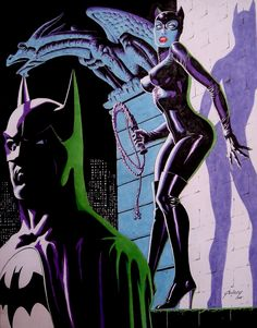 Paul Gulacy - Batman & Catwoman