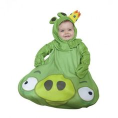 Babies' King Pig Costume!