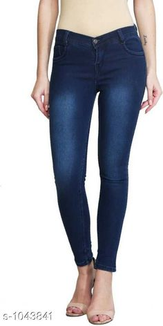 Jeans Upstyle Women's Denim Jeans  *Fabric* Denim  *Waist Size* 28 in,30 in,32 in,34 in,36 in  *Length* Up To 40 in  *Type* Stitched  *Description* It Has 1 Piece Of Women's Denim Jeans  *Work* Solid  *Sizes Available* 28, 30, 32, 34, 36, 38, 40 *    Catalog Name: Bria Upstyle Women's Denim Jeans Vol 4 CatalogID_126750 C79-SC1032 Code: 504-1043841-