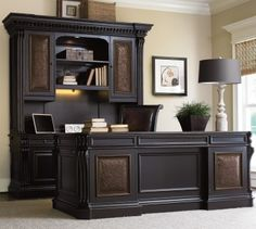 executive home office ideas. hooker furniture telluride executive desk home office ideas