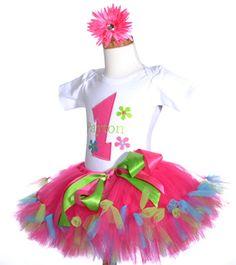 Vestidos para la primera Fiesta de Cumpleaños de tu Bebe : Fiestas Infantiles Decoracion