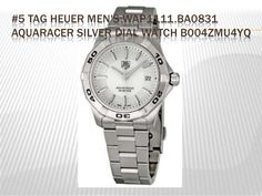 #5 TAG HEUER MEN'S WAP1111.BA0831 AQUARACER SILVER DIAL WATCH B004ZMU4YQ
