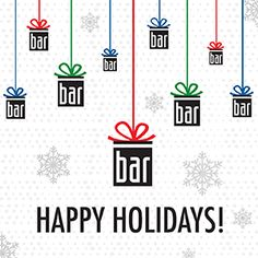 Happy Holidays From The Bar Method! http://blog.barmethod.com/happy-holidays-from-the-bar-method/