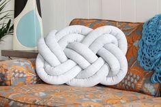 DIY Knot Pillow | eHow