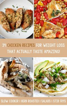 We have collected 34 amazing chicken recipes you can add into your weight loss diet from some brilliant food blogs and websites. As always, try your favourites, share and save this article to your social media and be sure to leave us a comment with what you thought of the recipe. Enjoy!