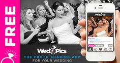 FREE! The Interactive Photo App For Your Wedding. Available for iPhone, Android, and all digital cameras! WedPics is a fun and easy way to capture and share all of your guests' photos in a single album. No more Disposable Cameras! And did we mention it's FREE! www.WedPics.com