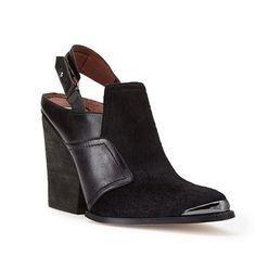 Forever21 Sleek Slingback Booties | Spotted on @POPSUGAR Fashion