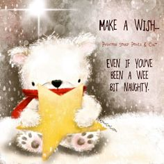 Make a wish... even if you've been a wee bit naughty. ~ Princess Sassy Pants & Co
