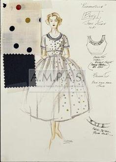 PLEASANTVILLE | costume design drawing(s) | Makovsky, Judianna | Allen, Joan