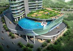 Hotel Balcony Swimming Pools