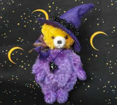 Magic a miniature bear by LouisePeers on Etsy