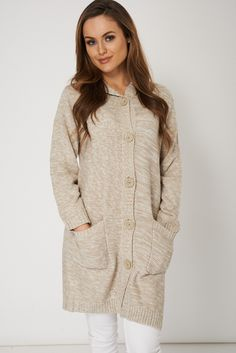Casual Long Hooded Cardigan only for £8.99Click link to view more items.