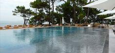 La piscine de l 39 h tel la corniche pya arcachon cap ferret arcachon pyla pinterest - Hotel la corniche pyla ...