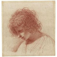 Guercino, head of a Young Man in Profile, Sotheby's