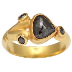 1stdibs | Black Diamond Ring by Rebecca Koven
