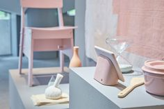 Trend forecaster Li Edelkoort teamed up with Googles Hardware Design Studio to curate this Tokyo exhibition demonstrating how the companys latest products can be integrated into living spaces.