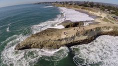 I'm not sure how I feel about drones flying all over Santa Cruz, but you gotta admit the footage is beautiful!