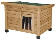 Kerbl Rustica Cat House, 57 x 45 x 43 cm